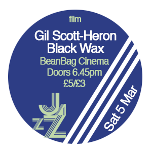 GIL SCOTT-HERON 'BLACK WAX'